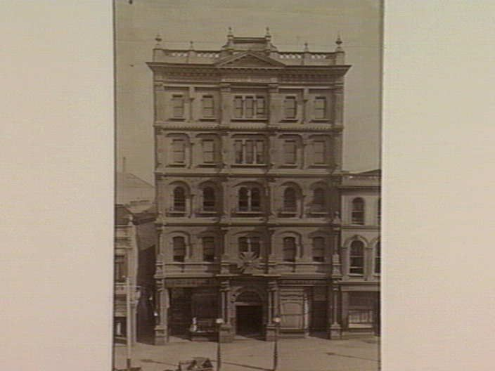 [Melbourne Coffee Palace, 89 Bourke Street, Melbourne] [picture] , State Library of Victoria