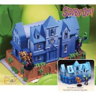 Scooby Doo Haunted House Cake Decoration Kit | Scooby Doo Party Supplies…