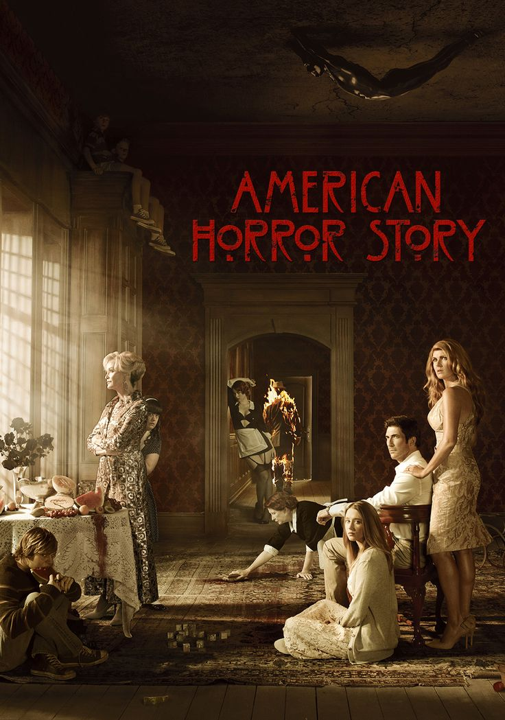"American Horror Story Interesting at first but a bit corny when the ghosts of the house became ""too physically there"". But okay i guess, it helped me pass the time during insomnia nights."