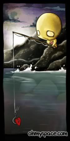 There are other fish in the sea, they said....Oh yeah?...I must be using the wrong bait.