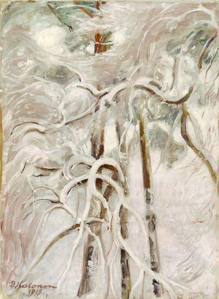 Pekka Halonen, Luminen Mänty, 1919, The Life and Art of Pekka Halonen - from http://www.alternativefinland.com/art-pekka-halonen/