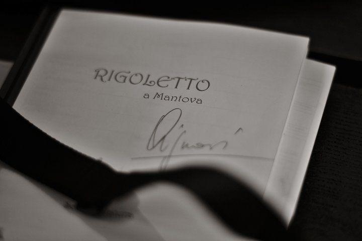 """From: https://www.facebook.com/media/set/?set=a.103352666405180.5633.100001913407898&type=3  /  Giuseppe Verdi - Rigoletto/ """"RIGOLETTO FROM  MANTUA"""" / PHOTO: Cristiano Giglioli /  Rigoletto - Placido Domingo; Gilda - Julia Novikova; Duke of Mantua - Vittorio Grigolo; Sparafucile - Ruggero Raimondi; Maddalena - Nino Surguladze/ directed by Marco Bellocchio/ RAI National Symphony Orchestra conducted by Zubin Mehta/ RAI TV 2010."""