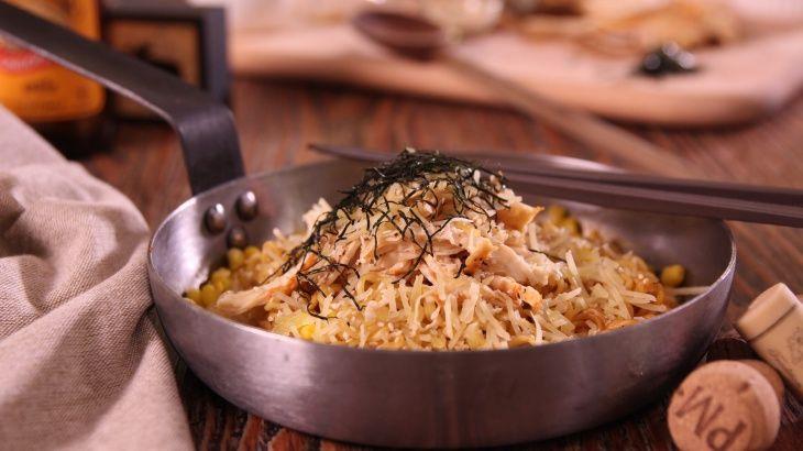 Острая жареная курица с лапшой - пошаговый рецепт