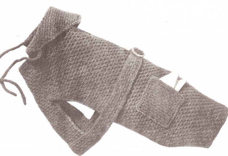 Dog Sweater Crochet Pattern
