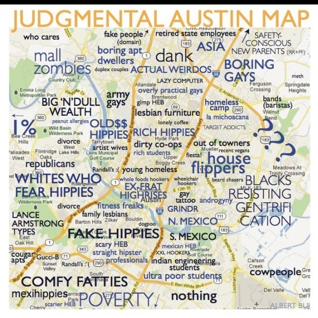 30 best maps images on pinterest austin map ut austin map and judgmental austin map sciox Gallery