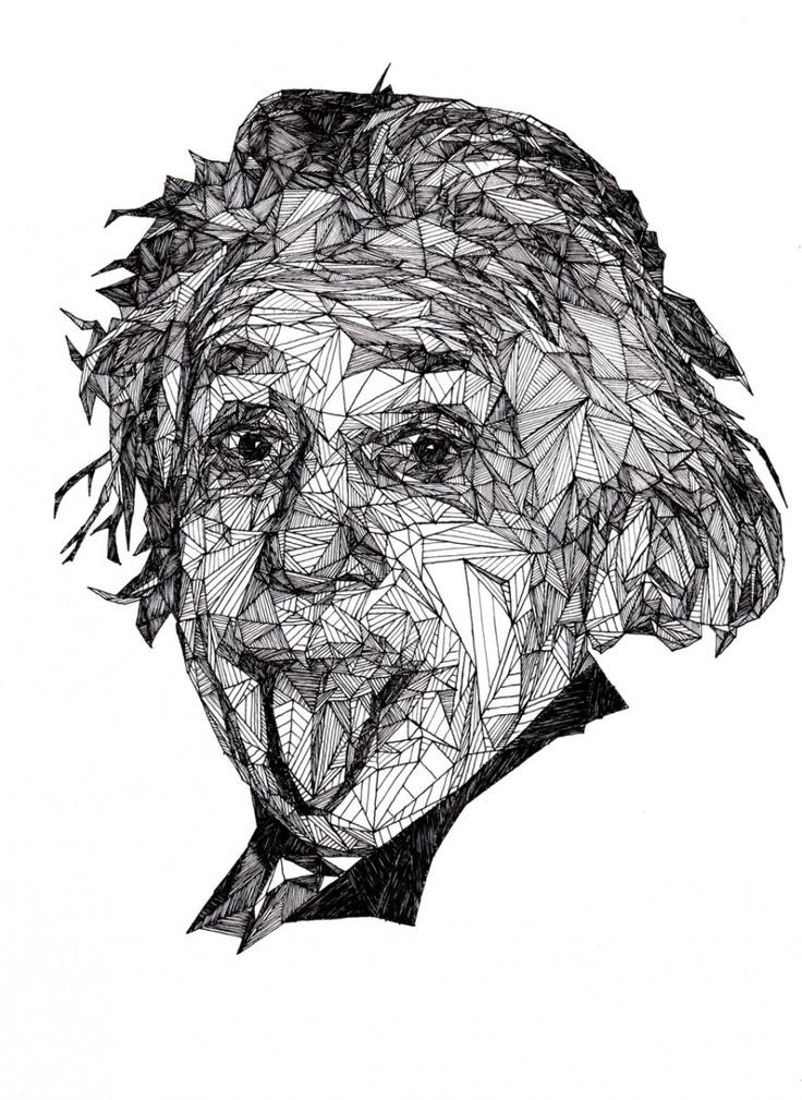 Albert Einstein by Josh Bryan