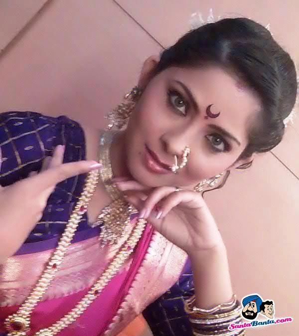 Maharastriyan naked bride photo