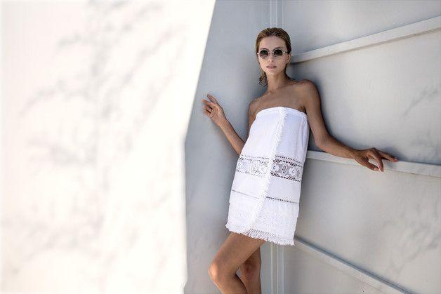 Weiteres - Poncho, Badedecke Luna di Giorno - ein Designerstück von Shelest-boutique bei DaWanda