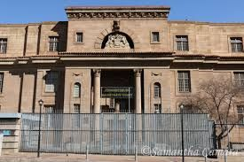 Johannesburg high court,where the trial was held.