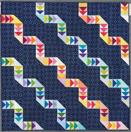 Twisted Ribbons quilt..Fons and Porter