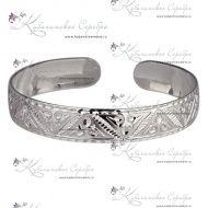 Браслет серебряный, арт №3381 - «Кубачинское серебро»