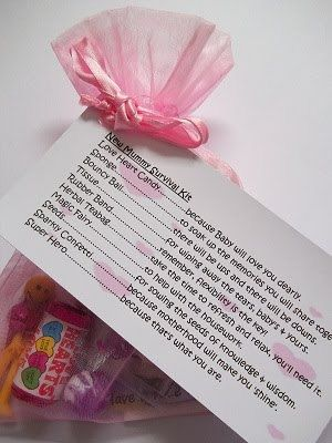 Mum to Be / New Mummy Survival Kit Novelty by Honeybeeblessings