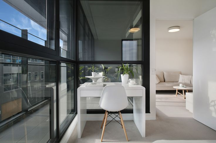 Step inside to your own world of comfort and style. Precinct apartments feature innovative layouts, cutting edge design and quality appliances.   #salvopropertygroup #innercityliving #precinctapartments #studynook #propertyforsale #propertystyling