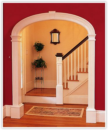 Best 20 arch doorway ideas on pinterest for Arch ideas for home