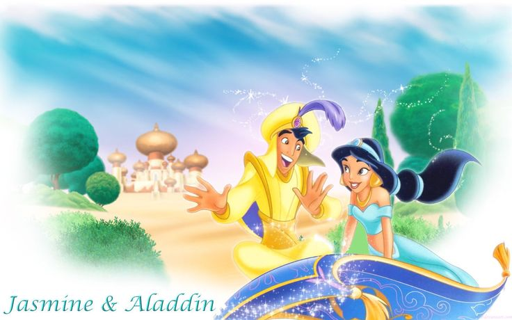 Aladdin and Jasmine - Aladdin Wallpaper (23744542) - Fanpop fanclubs