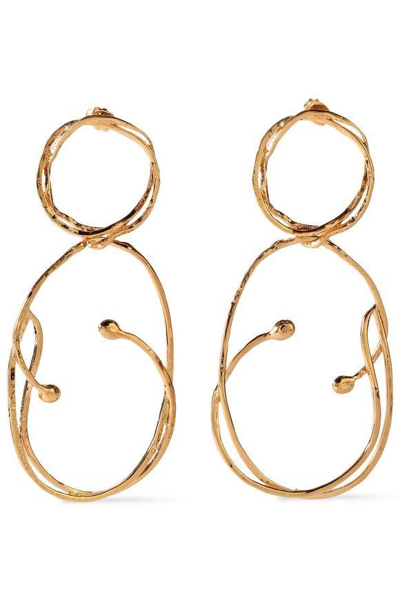 Aurélie Bidermann Aurélie Bidermann Woman Hammered Gold-tone Cuff Gold Size ebHrV9q