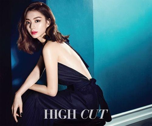 Park Soo Jin for High Cut Korea Vol. 168. Photographed by Ahn Joo Young