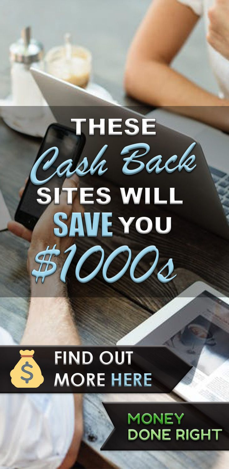 Most people know about 1 or 2 cash back sites or apps to save them money, but there are actually several more out there that will save you thousands of dollars in the long run.