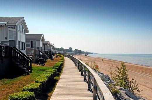 Lake Erie Cabin, Cottage Rentals - Beachfront Rentals on Lake Erie