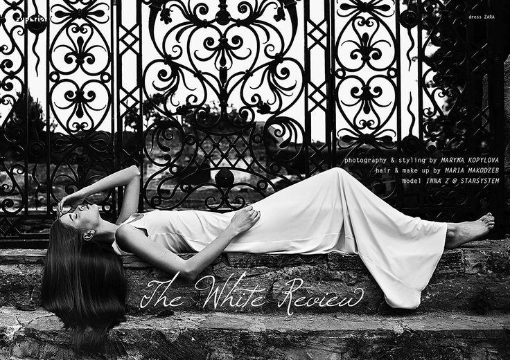 THE WHITE REVIEW - Fashion Editorial by Maryna Kopylova