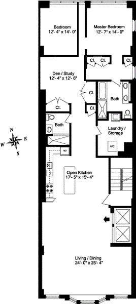 25 best loft floor plans ideas on pinterest for 16x50 house plans