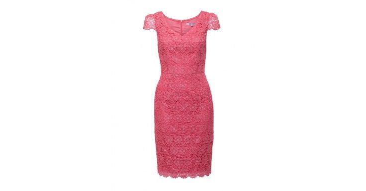 Review Australia | Liana Lace Dress  Coral