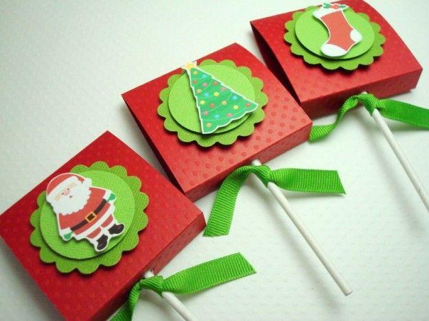 Regalos Navidad manualidades para niños: fotos ideas