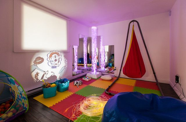 Awesome Sensory Room Ideas That Calm Kids Your Kid S Table Sensory Room Autism Sensory Room Sensory Bedroom