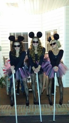 The DYI New And Improved Three Blind Mice Costumes
