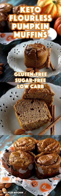 2595 best baking images on pinterest belgian chocolate biscuit my pcos kitchen easy keto flourless pumpkin muffins these flourless muffins are gluten forumfinder Images