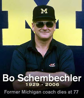 Bo Schembechler 4/1/1929--11/17/2006
