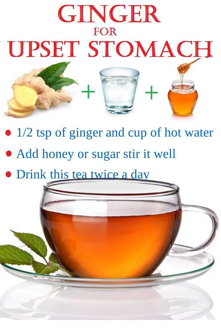 Ginger for Stomach Upset