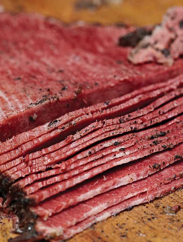 Homemade Pastrami Recipe Nick Zukin | Michael Zusman | The Artisan Jewish Deli at Home | Andrews McMeel, 2013