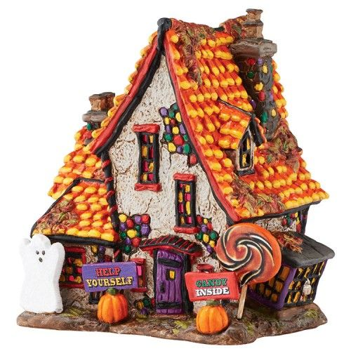 Snow Village Halloween Sweet Trappings Cottage | Department 56 Villages, Free Shipping on Dept 56