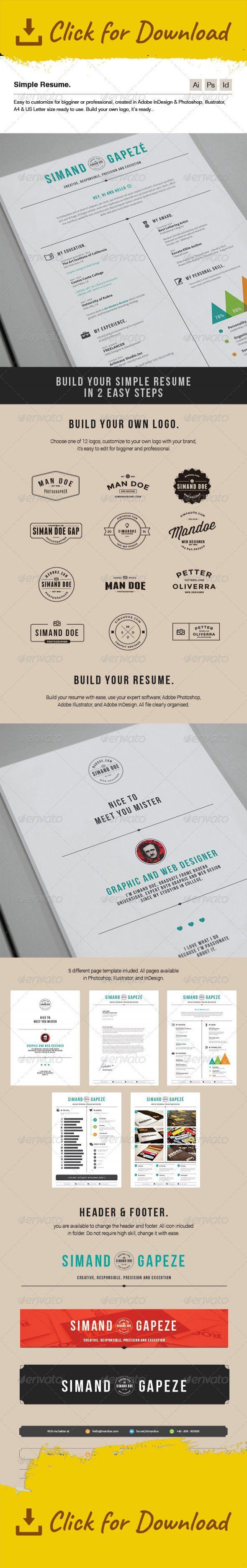 clean cover letter creative template curriculum vitae