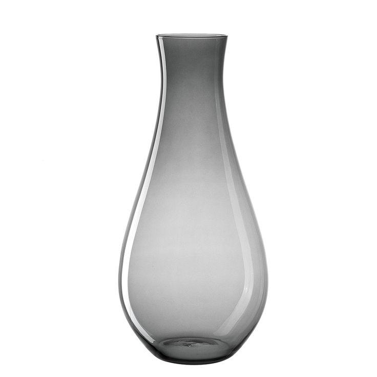 Vase Giardino I - Glas - 70 - Grau, Leonardo Jetzt bestellen unter: https://moebel.ladendirekt.de/dekoration/vasen/tischvasen/?uid=4892bd56-035b-5f0e-ab1c-f6501665ecf5&utm_source=pinterest&utm_medium=pin&utm_campaign=boards #accessoires #tischvasen #vasen #leonardo #dekoration #schalen