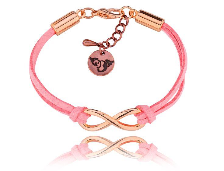 Bransoletka By Dziubeka #bydziubeka #bracelet #infinity #jewelry #bydziubeka #jewelry #infinity