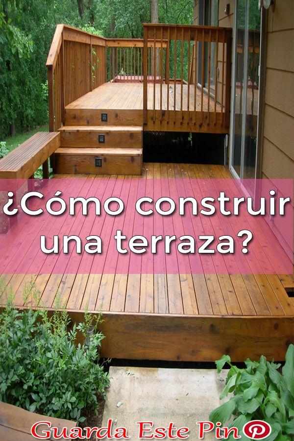 Como Construir Una Terraza El Mobiliario De Jardin Es La Primera