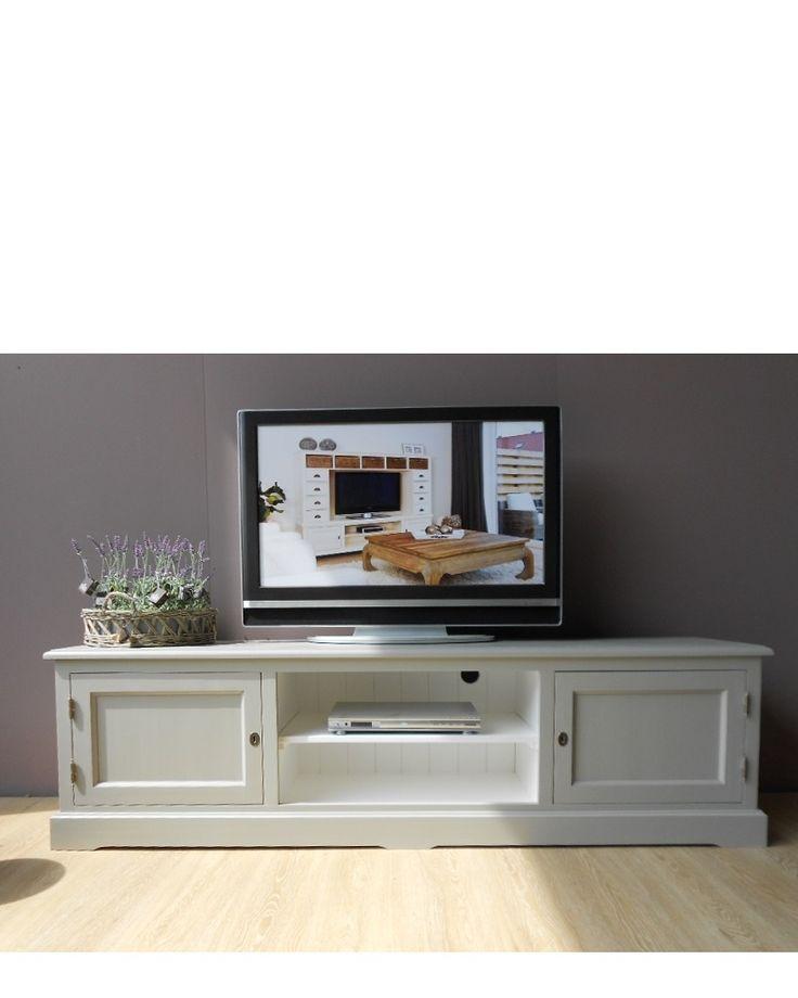 TV Dressoir Provence Laag - TV Dressoirs - Landelijke TV meubelen - Landelijke Meubelen - De Gouden Engel