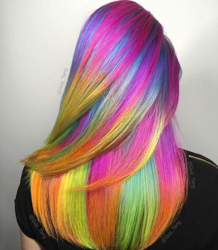 Rainbow Unicorn Hair