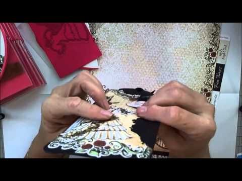 Simple ways to make a card that's a high heel, rose borders and more! All Glammed Up Collection - YouTube