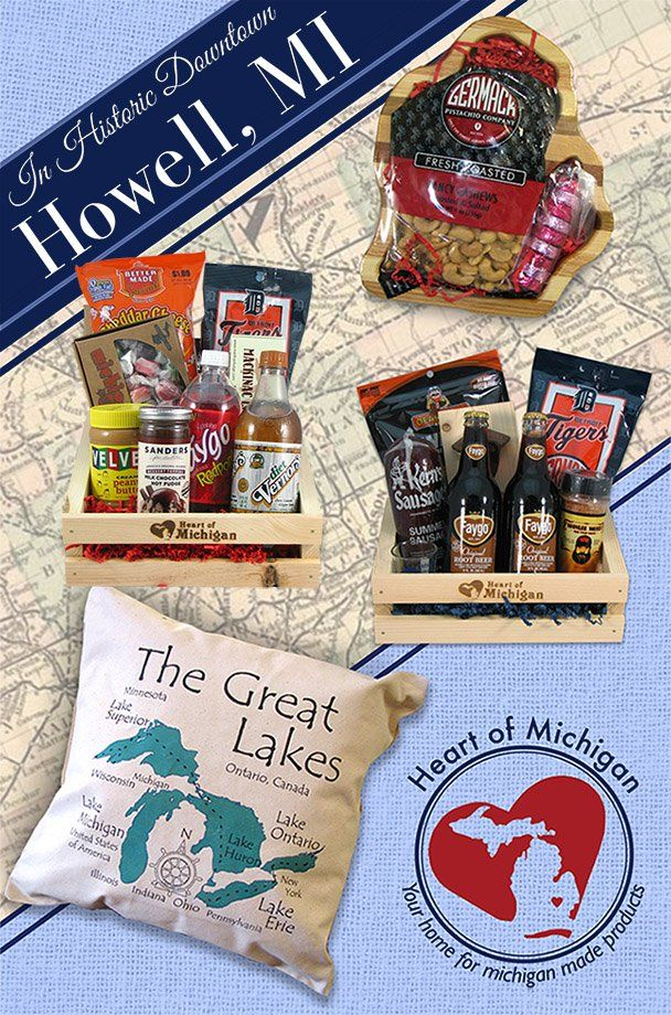 Buy Made in Michigan - Michigan Made Products and Gift Baskets | Michigan Made | Michigan made products, Michigan, Michigan travel