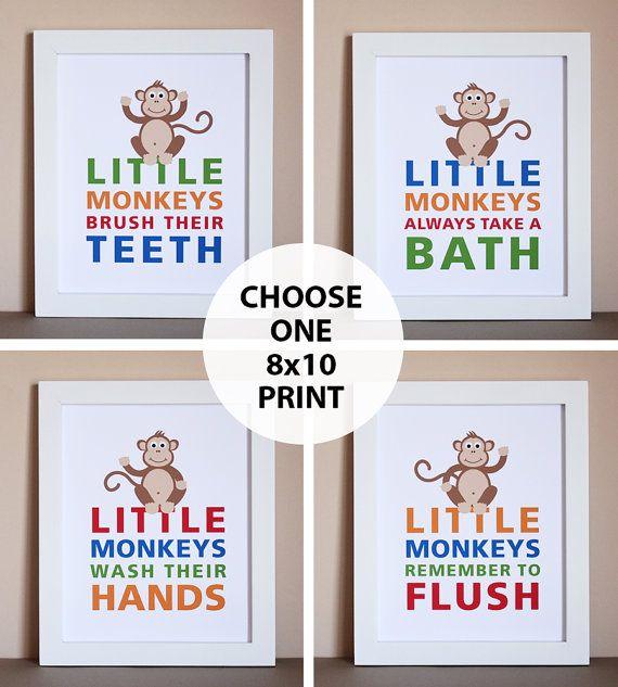 25 best ideas about monkey bathroom on pinterest kids bathroom paint kids bathroom. Black Bedroom Furniture Sets. Home Design Ideas