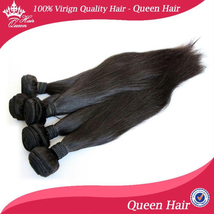 Королева волос Продукты 5А 8 -30 5 шт. Вир-джин Бразилия 100% Ху человек Волос расширения 100 г/шт. Прямо Уток Машины