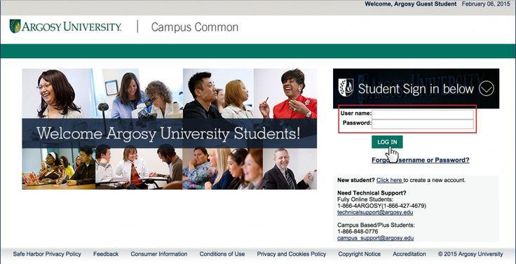 Instructions for Argosy University Student login. Argosy University is a for-profit college. https://www.loginn.co/argosy-university-student-login/