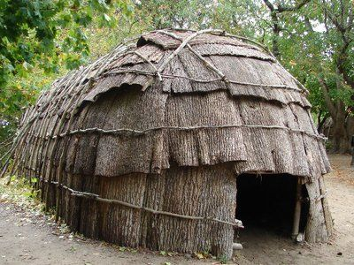 The Iroquois Indian Long House