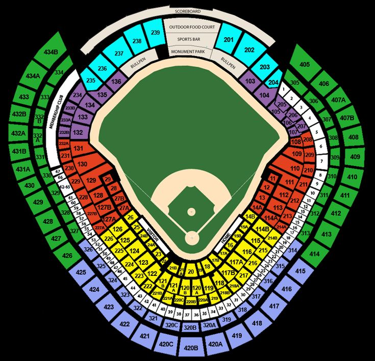 yankee stadium seating chart with rows | Detailed Seating Chart / Venue Map for Yankee Stadium