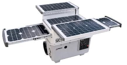 Amazing SOLAR CUBE can power appliances such as radio, portable stereo, laptop computer, television, microwave, conventional refrigerator/freezer: http://happypreppers.com/solar.html