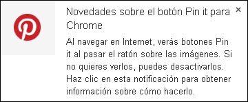 """Ahora, el botón de """"Pin it"""" en toda la web - Pinterest Español"""