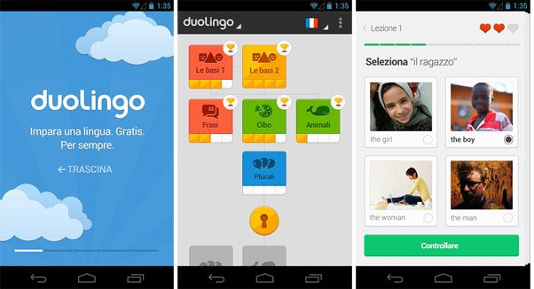 Duolingo A Fun Way To Learn Spanish, French German english and italian for free